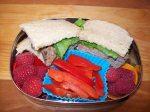 Mini-Meatball Club Sandwich